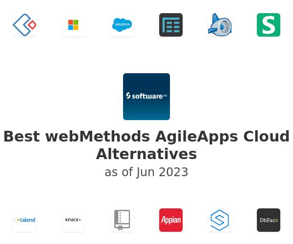 Best webMethods AgileApps Cloud Alternatives