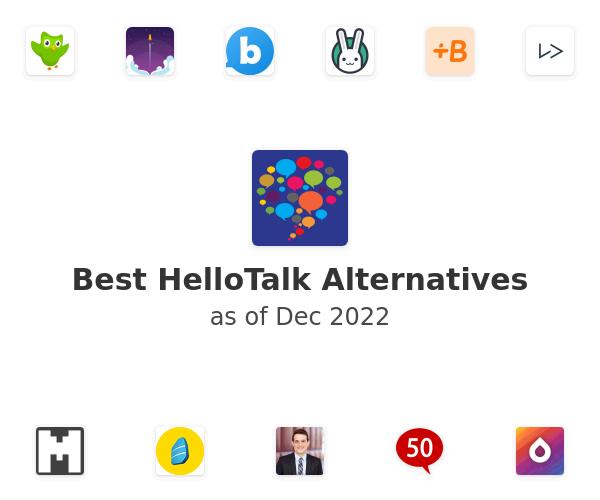 Best HelloTalk Alternatives