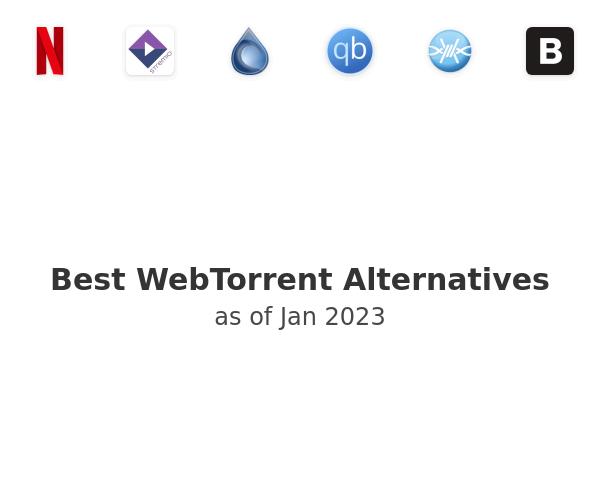 Best WebTorrent Alternatives
