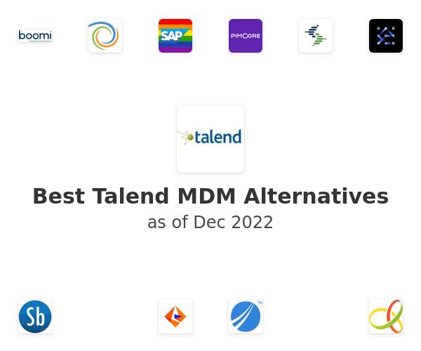 Best Talend MDM Alternatives
