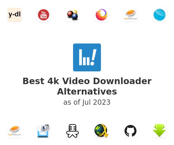 Best 4k Video Downloader Alternatives