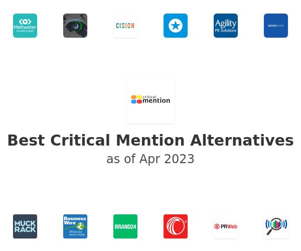 Best Critical Mention Alternatives