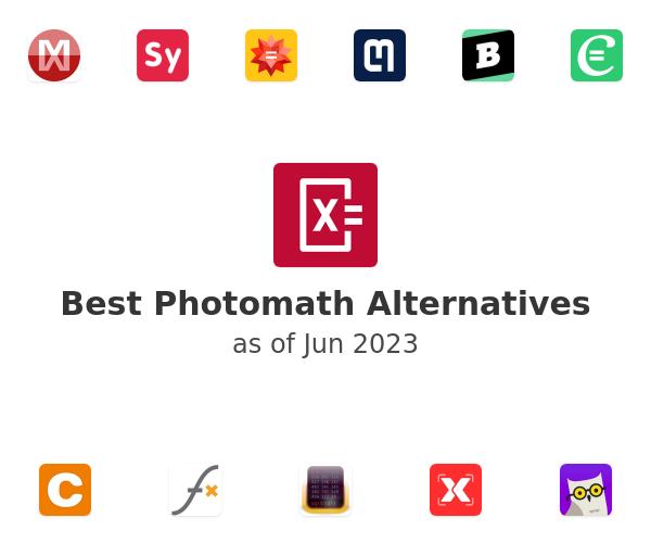 Best Photomath Alternatives