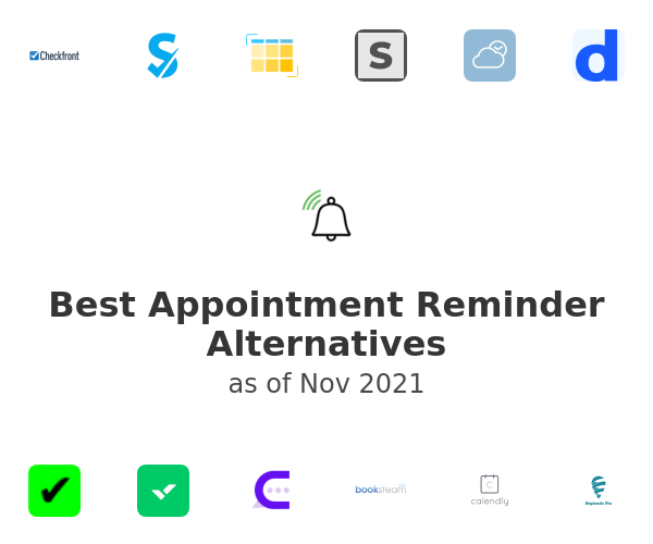 Best Appointment Reminder Alternatives
