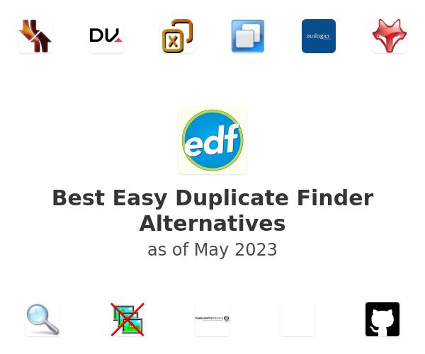 Best Easy Duplicate Finder Alternatives