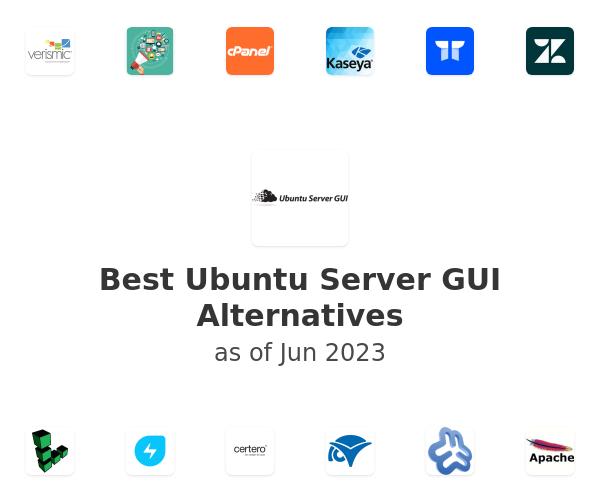 Best Ubuntu Server GUI Alternatives