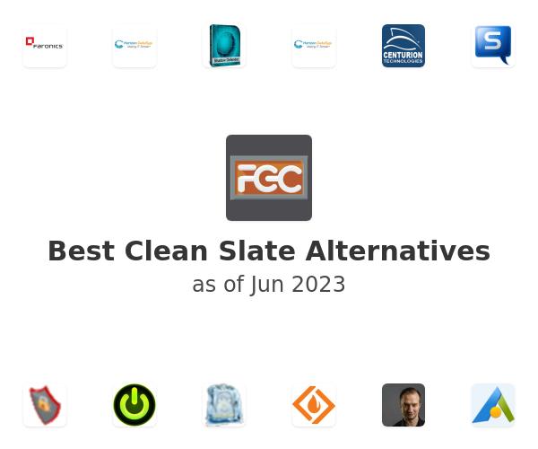 Best Clean Slate Alternatives