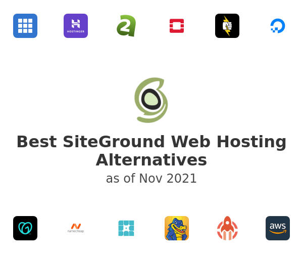 Best SiteGround Web Hosting Alternatives
