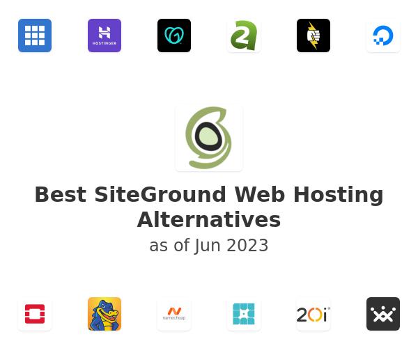 Best SiteGround Web Hosting Alternatives