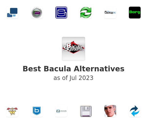 Best Bacula Alternatives
