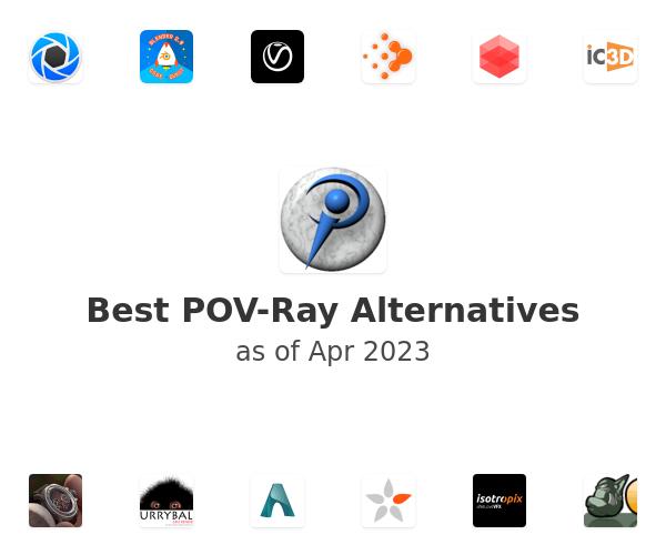 Best POV-Ray Alternatives