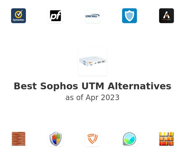 Best Sophos UTM Alternatives