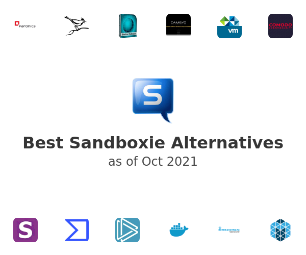 Best Sandboxie Alternatives