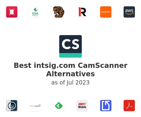Best CamScanner Alternatives