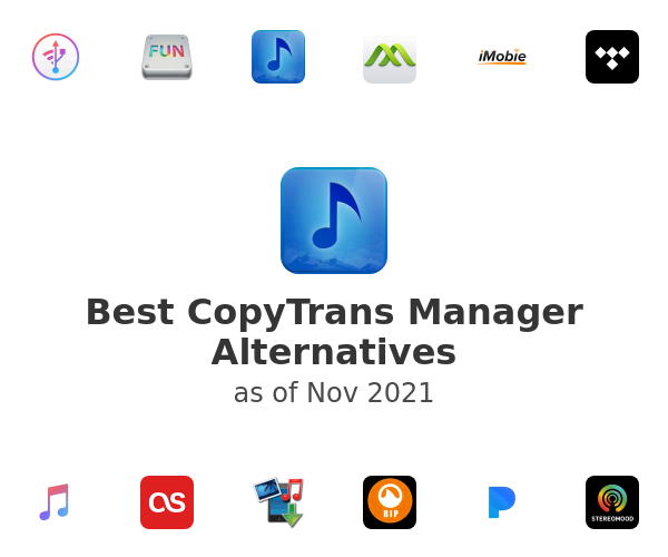 Best CopyTrans Manager Alternatives