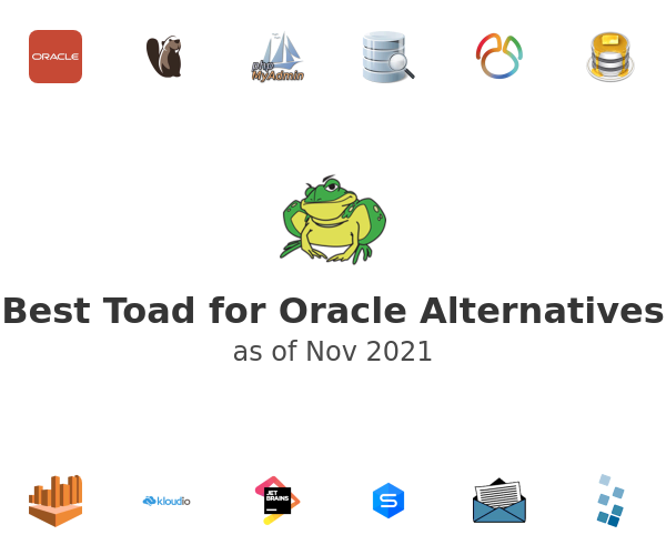 Best Toad for Oracle Alternatives