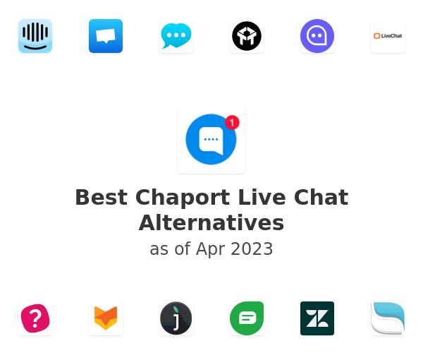 Best Chaport Live Chat Alternatives