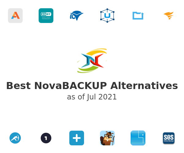Best NovaBACKUP Alternatives