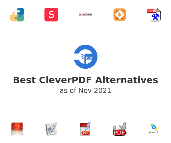 Best CleverPDF Alternatives