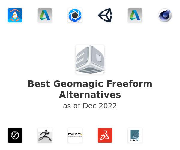 Best Geomagic Freeform Alternatives