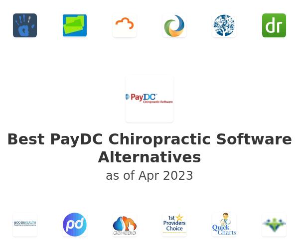 Best PayDC Chiropractic Software Alternatives
