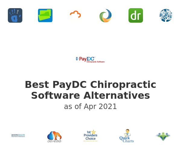 Best PayDC Chiropractic Software Alternatives
