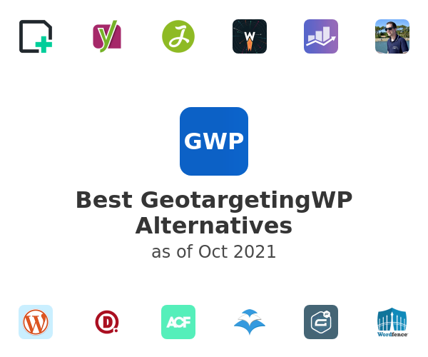 Best GeotargetingWP Alternatives