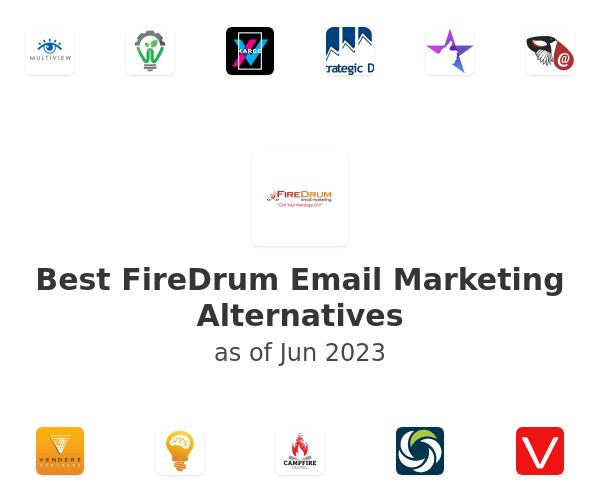 Best FireDrum Email Marketing Alternatives