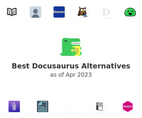 Best Docusaurus Alternatives