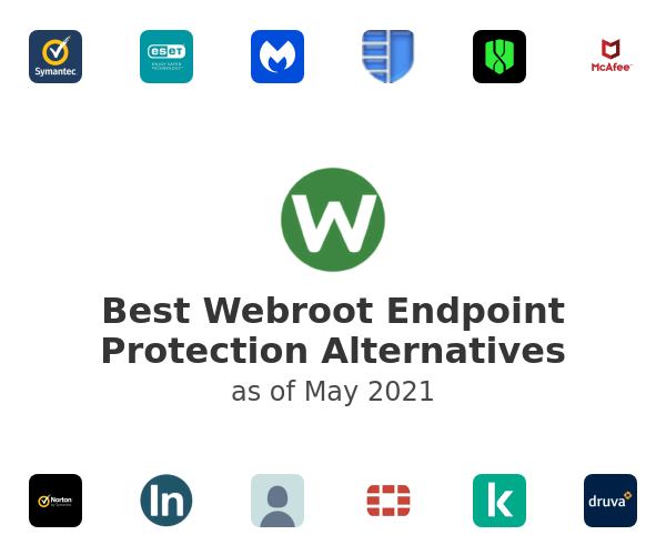 Best Webroot Endpoint Protection Alternatives