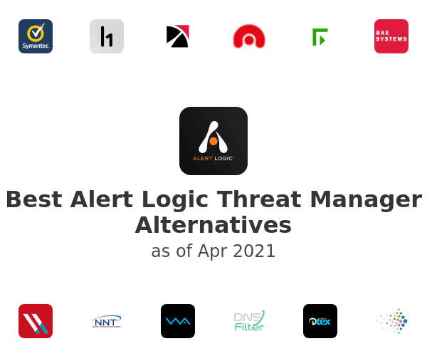 Best Alert Logic Threat Manager Alternatives