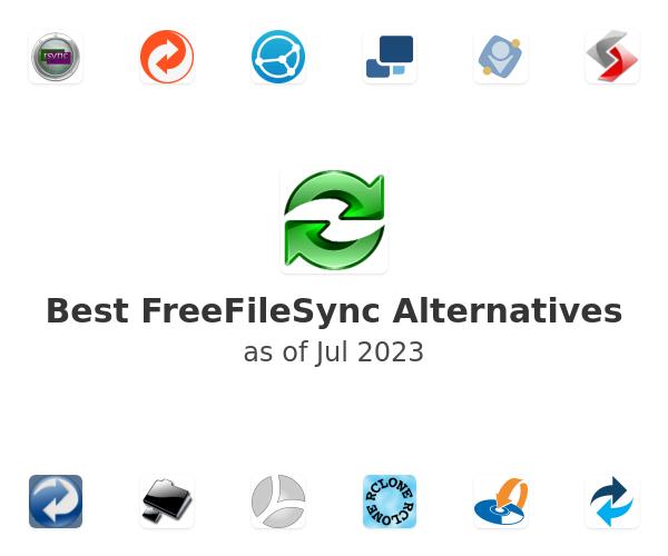 Best FreeFileSync Alternatives