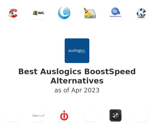 Best Auslogics BoostSpeed Alternatives