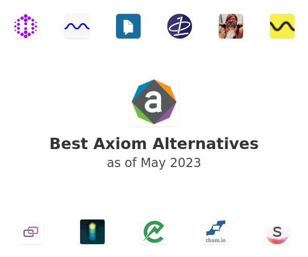 Best Axiom Alternatives