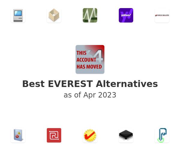Best EVEREST Alternatives