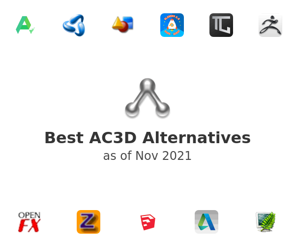 Best AC3D Alternatives