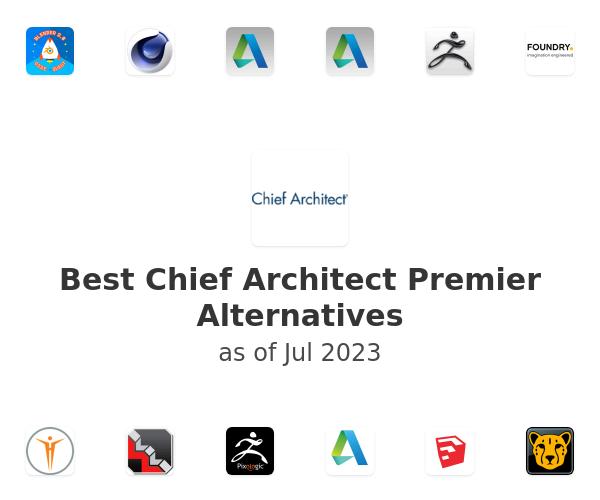 Best Chief Architect Premier Alternatives