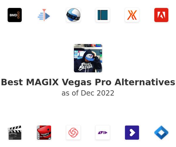 Best MAGIX Vegas Pro Alternatives