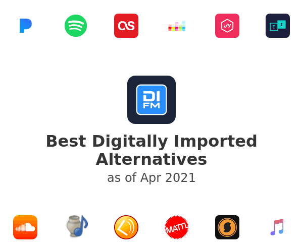 Best Digitally Imported Alternatives