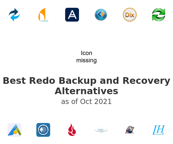 Best Redo Backup and Recovery Alternatives