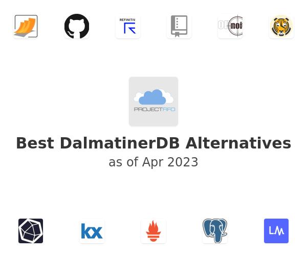 Best DalmatinerDB Alternatives
