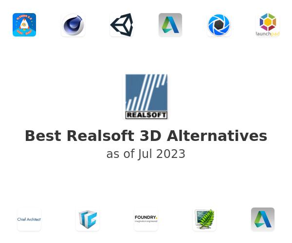 Best Realsoft 3D Alternatives