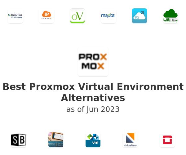 Best Proxmox Virtual Environment Alternatives
