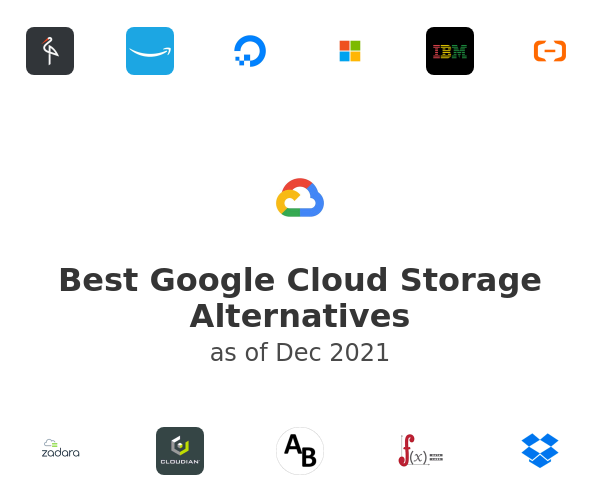 Best Google Cloud Storage Alternatives