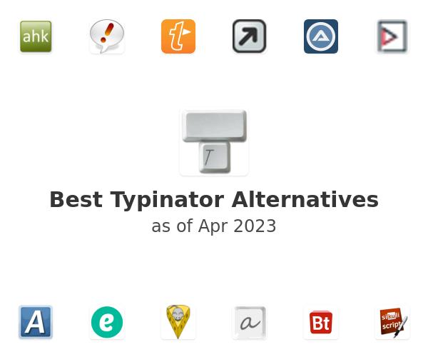 Best Typinator Alternatives