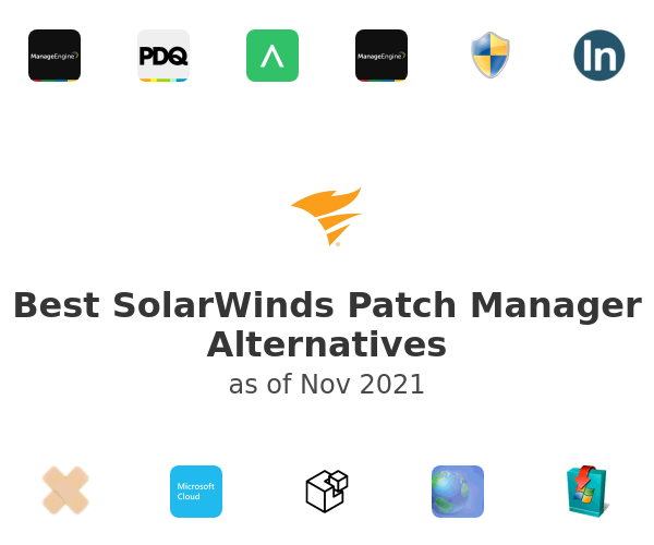 Best SolarWinds Patch Manager Alternatives
