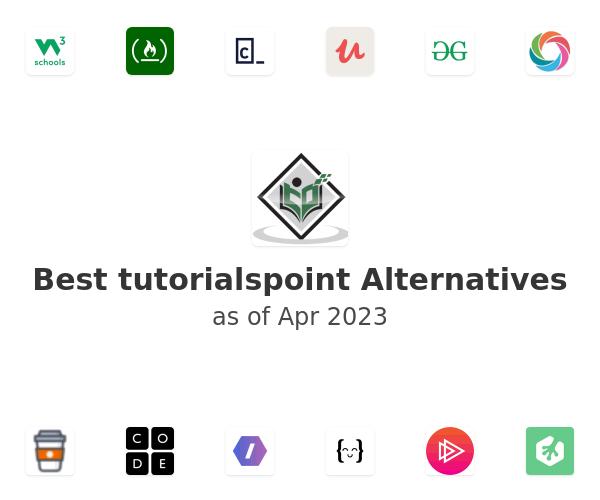 Best tutorialspoint Alternatives