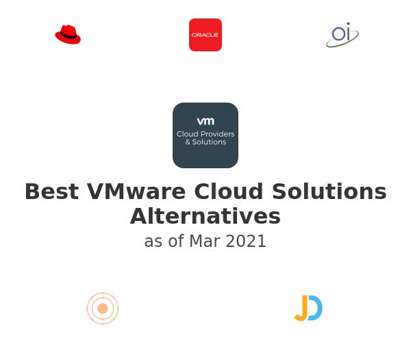 Best VMware Cloud Solutions Alternatives