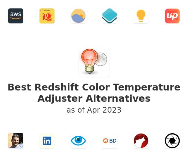 Best Redshift Color Temperature Adjuster Alternatives