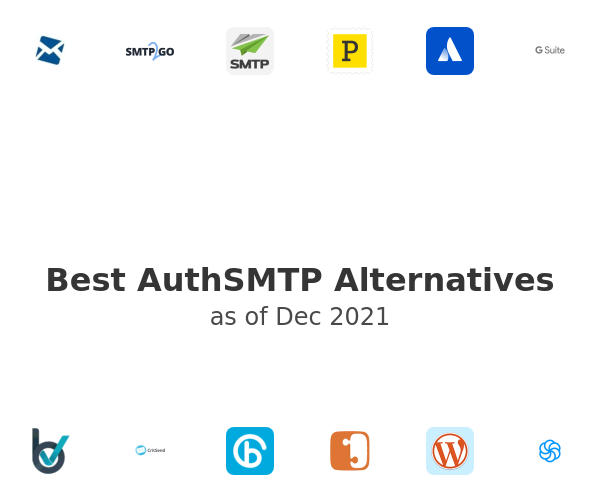Best AuthSMTP Alternatives